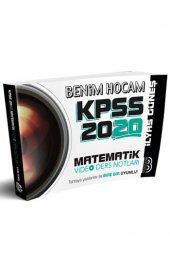 2020 KPSS Matematik Video Ders Notları Benim Hocam Yayınları