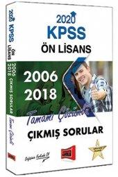 2020 Kpss Ön Lisans 2006 2018 Tamamı Çözümlü Çıkmış Sorular Yargı