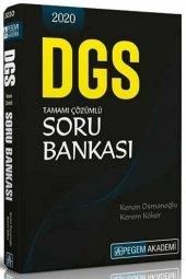 2020 Dgs Tamamı Çözümlü Soru Bankası Pegem A Yayıncılık