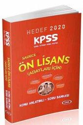 2020 KPSS Ön Lisans GY-GK Konu Anlatımlı Soru Bankası