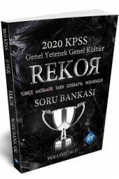 2020 Kpss Rekor Gy Gk Soru Bankası Kr Akademi