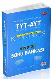 Tyt Ayt Konsensüs Biyoloji Soru Bankası Editör Yayınları