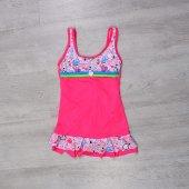 Endeep Kız Çocuk Yüzücü Elbise Mayo Pembe 23082