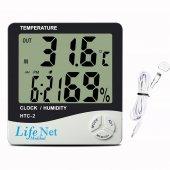Htc 2 Termometre, Dijital Sıcaklık Ve Nem Ölçer...