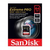 Sandisk Extreme Pro 64gb 300mb S Sdxc Hafıza Kartı