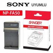 Sony Np Fa50 Şarj Aleti Şarz Cihazı Sanger