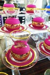Paşabahçe Versace Yaldızlı 6 Kişilik Çay Bardak...