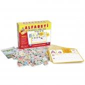 Eğitici Oyuncak Alfabeyi Öğreniyorum Eğitim Seti 4+ (Kargo Ücretsiz)