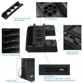 Dobe Sony PS4 Fanlı Şarj Stand Fat/Slim/Pro Uyumlu-2