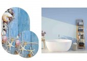 Soley 2li Oval Süngerli Banyo Paspası