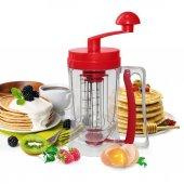Pancake Pankek Makinası Mikser Krep Makinesi