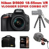 Nikon D5600 18 55 Vr Vlogger Süper Kit