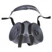 Maxsafety Yüz Maskesi Çift Filtreli Ön Korumalı Gaz Maskesi  Set2-3