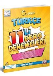 Koza Yayın 6. Sınıf Türkçe 11'Li Deneme Seti