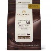 Callebaut 811 Bıtter Damla Drop 2.5kg