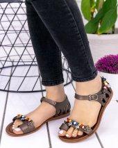 Rubye Platin Cilt Sandalet