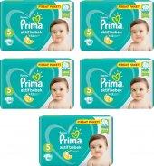 Prima Bebek Bezi Aktif Bebek 5 Beden 46 Adet Junior Fırsat Paketi 5li Paket 230 Adet