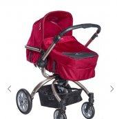 Pierre Cardin Twist Travel Sistem Bebek Arabası Kırmızı