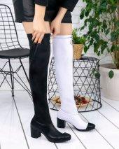 Rafela Siyah Beyaz Cilt Çizme