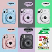 Fujifilm İnstax Mini 11 Fotoğraf Makinesi+askı+pil+20'li Film