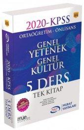 Murat Yayınları 2020 Kpss Ortaöğretim Önlisans