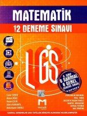 Mozaik Yayınları 8. Sınıf Lgs Matematik 12 Li Deneme Sınavı