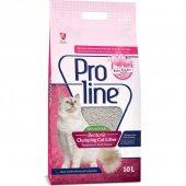 Pro Line Babypowder (Bebek Pudralı) Kedi Kumu Parfümlü 10 Lt