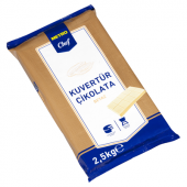 Blok Beyaz Kuvertür 2.5 Kg