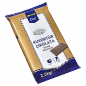 Blok Bitter Kuvertür (53) 2.5 Kg