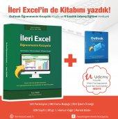 Ileri Excel Öğrenmenin Kısayolu (9 Saat Video Eğitim + Outlook Öğrenmenin Kısayolu Hediyeli)