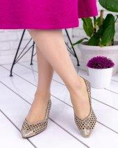 Shirley Gold Cilt Topuklu Ayakkabı-3