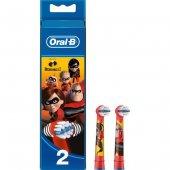 Oral B Şarjlı Diş Fırçası Yedek Çocuk Incredible 2li