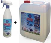 Specsol Genel Temizlik Ağır Yağ Kir Çözücü (5 Litre + 750 Ml Paketi)
