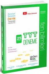 üçdörtbeş Yayınları Tyt Fen Bilimleri 25 Deneme...