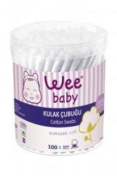 Wee Baby Emniyetli Yumuşak Kulak Çubuğu 100lı 905