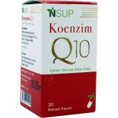 Nsup Koenzim Q10 100 Mg 30 Vegeteryan Kapsül