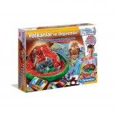Clementoni Bilim Ve Oyun Volkanlar Ve Depremler Deney Seti 64577
