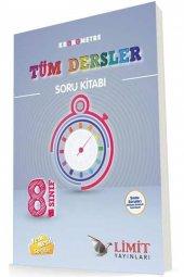 Limit Yayınları 8. Sınıf Tüm Dersler Kronometre Soru Kitabı