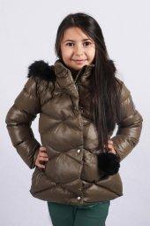 Milan Çocuk Club 25 Yaş Kız Çocuk Mont Kaban Yeşil Renk