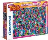 Clementoni Impossible Puzzle Trolls 1000 Prç...