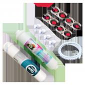 Su Arıtma Cihazı İnline Filtre Takımı İkili Yedek Parçalı Set