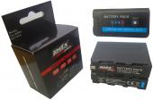 9700 mAh NP-F970 180 Led Işık Bataryası