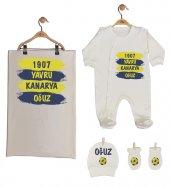 Pia Baby GL 1959-02 İsme Özel Taraftar Beşli Tulum Set-2