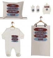 Pia Baby Gl 1961 02 İsme Özel Taraftar Beşli Tulum Set