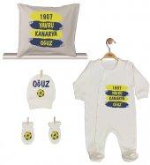 Pia Baby GL 1959-02 İsme Özel Taraftar Beşli Tulum Set-3