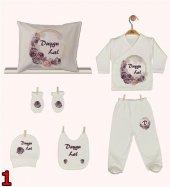 Pia Baby Gl 06 İsme Özel Yastık Zıbın Set