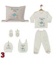 Pia Baby GL 02 İsme Özel Yastık Zıbın Set-3