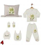 Pia Baby GL 02 İsme Özel Yastık Zıbın Set-4