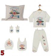 Pia Baby GL 02 İsme Özel Yastık Zıbın Set-5