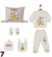 Pia Baby GL 02 İsme Özel Yastık Zıbın Set-7